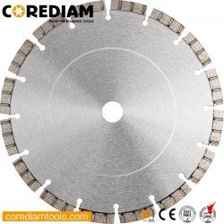 105mm-400mm soudé laser Diamond la lame de scie /Segment Turbo Concreta la lame de scie