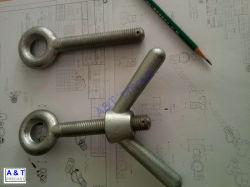 Special-Shaped el tornillo de acero inoxidable o acero Corbon/perno de anilla con alta calidad