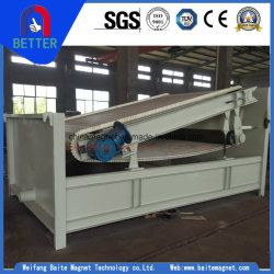 Tipo placa Btpb alto gradiente de separación magnética permanente de la máquina para la arena de cuarzo /Planta Minera