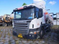 Опасных химических веществ и жидкости перевозки автотранспорта Scania P380 используется грузовиков 6X4 Ван погрузчика на тракторе