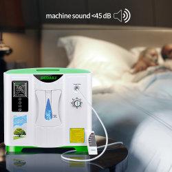 Médico Dedakj 2L 5L 10L Hospital Home Mini Oxygenerator Concentrador de Oxigénio Portátil