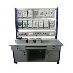 Banco simulador PLC programable Eléctrica Industrial Equipos de Laboratorio Equipos de laboratorio para la universidad