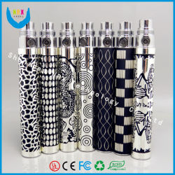 Unique motif coloré Cigarette électronique EGO EGO/Q/bling cristal/Diamond/EGO K Batterie