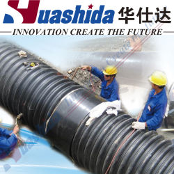 Manicotto termorestringibile di plastica del PE per il rivestimento della giuntura di sigillamento del tubo per fognatura