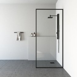 Deur van de Douche van de Bijlage van de Douche van de Zaal van de Douche van het Scherm van de Douche van het Glas van de badkamers Nano Aangemaakte
