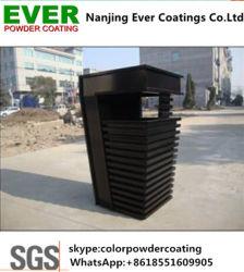Pulverização eletrostático Feihong RAL9005 Spray preta fina camada de pintura por pó Paint
