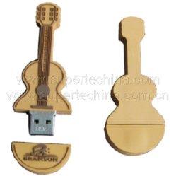 Силиконовый скрипка формы флэш-накопитель USB (S1A-6231C)