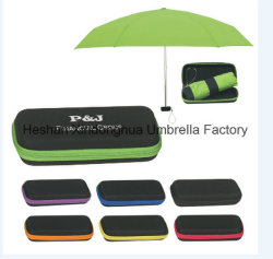 Мини-пять складные зонты с EVA зонтик в салоне (ФУ-5619ZE)