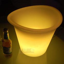 Ковш для льда с подсветкой светящихся льда контейнер
