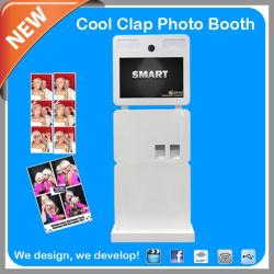 재미있는 사진을 위한 휴대용 터치 스크린 포토 키오스크 장비