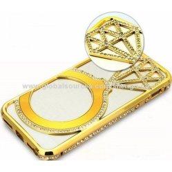 Rhinestone Crystal металла бампер чехол для iPhone 6