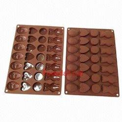 Haut de chocolat en caoutchouc de silicone de transmittance des ustensiles de cuisine Cas du moule