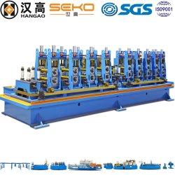 Intercambiador de calor del tubo de soldadura de tubo de máquinas de la línea de molino de tubo de la bobina de acero inoxidable que hace la máquina
