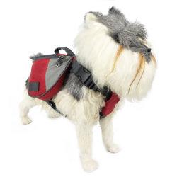 Productos para mascotas perro Senderismo Mochila Bolsa de transporte de mascotas alimentación de animales de compañía ajustable