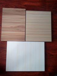 Revestido de PVC armário de cozinha porta/Melamina, diante da porta do armário para mobiliário