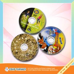 Мини-CD/DVD-репликации и упаковки
