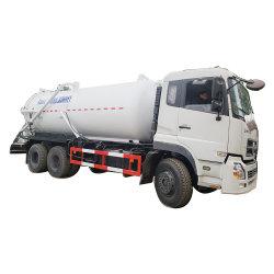 Dongfeng Kinland Heavy Duty 6X4 20tons 18tons 16tons Vakuum-Toilette Absaugfahrzeug