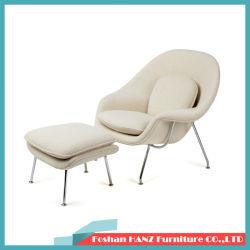 Restauant 오토만 (531)를 가진 현대 섬유유리 홈 모직 직물 호텔 가구 자궁 라운지용 의자