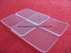 Polissage optique R5 Morceau de verre de quartz avec le coin coupé