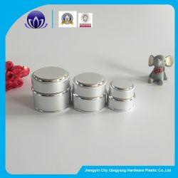Silberne kosmetische Behälter-Aluminiumleeres Glas-Gesichts-Sahne-Glasglas