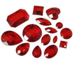 Commerce de gros de la mode perles de cristal de diamant de décoration en pierre de fantaisie costume du caisson de la partie Rhinestone verre Flatback, bijoux accessoire du vêtement