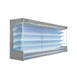 Aangepaste supermarkt nieuwe stijl Open gebruikte koelkast melk Display Cabinet