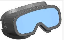 Enrole Lens estrutura ajustável óculos (SG109)