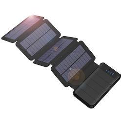 Caricabatteria solare della Banca 10000mAh di energia solare per il iPhone 6s 7 7plus 8 X Samsung HTC SONY Huawei Xiaomi E.T.C. di iPhone 5s 6 di iPhone 5