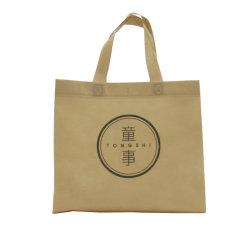 カスタムプリントEcoの再使用可能なスーパーマーケットの食料雑貨の昇進の買物をするNon-Woven袋の熱いシール