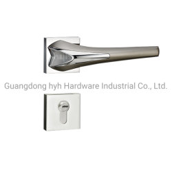 Nova patente Entrada Zamak Rosa de madeira fechadura da porta de Hyh Design