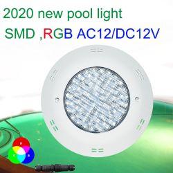 白く、青、緑、黄色、赤いカラー、3000Kの4000K SMDのLEDによって表面取付けられる水中プールライト