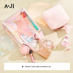 Bolso de lujo de la mujer bolsa transparente de PVC transparente Jelly Bolso Mujer Crossbody bolsas Messenger
