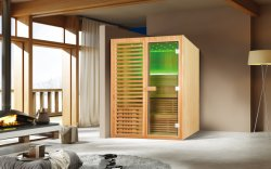Neueste Art-freistehende Innenzeder-hölzerner Sauna-Raum (M-6038)