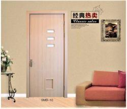 Водонепроницаемый Eco-Frieendly WPC двери/Композитный пластик из дерева двери/совка двери для пробных отпечатков