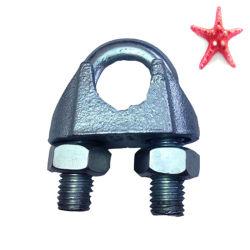 기계설비 DIN741 철사 밧줄 클립 삭구