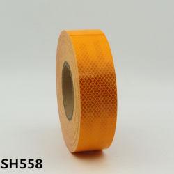 警告のためのSomitape Sh558の高品質の蜜蜂の巣のオレンジ赤外線反射テープ