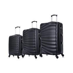 L'OEM della fabbrica della Cina ha accettato il colore dell'ABS Lightweight/ABS/Candy/vendita calda/popolare/d'avanguardia/Fashion/3PCS impostato/valigia con un sacchetto/bagagli/bagaglio di 4 Wheels//Travel