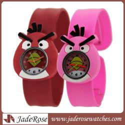 """Caricature d'enfants"""" regardent Cute montre-bracelet Mode Filles Garçons étudiants montres en silicone"""