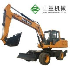 Szl135 het Hydraulische Graafwerktuig 13ton van het Wiel voor de Machines van de Mijnbouw