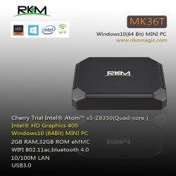 Intel Cherry Trail Z mini PC Windows8350 MK36T 2G RAM 32g ROM AC Ethernet WiFi