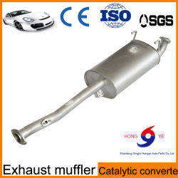 409stainles Steel silenciador de escape de automóviles de fabricación china