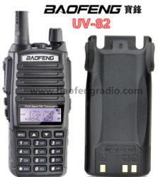 Оптовая торговля ручной дуплексной радиосвязи Baofeng УФ-82 ПК программируемых с двойной ключ запуска Ptt