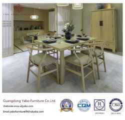 Luxuriöse Hotel-Gaststätte mit Tisch und Stuhl (YB-O-86)