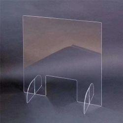 Barriera per ufficio trasparente acrilica Shield per la protezione