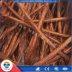 Pureza elevada 99,9% de sucata de cobre/sucata de cobre brilhante/barato de sucata de cobre 99,99% da China Factory