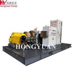 Máquina de chorro de agua eléctrica para la fábrica de acero Limpieza de tuberías
