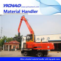 クローラー油圧式グラビングクレーンマテリアル・ハンドリング用資材ハンドリング装置 スクラップ金属リサイクル