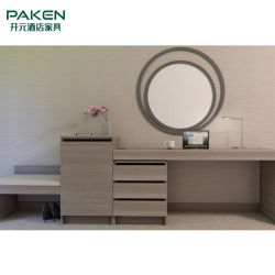 Отель мебель письменный стол и письменный стол с ящиками и ТВ Backgound и наружного зеркала заднего вида