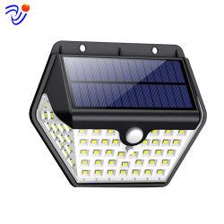 Lumières solaires Outdoor 2020 Nouveau Modèle 60 LED 800 lumens du capteur de mouvement feux de sécurité 270º Appliques feux à énergie solaire sans fil étanche
