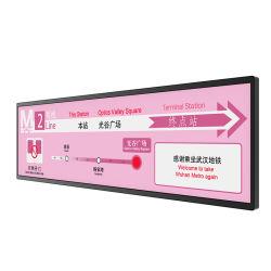 La multi barra all'ingrosso di funzione ha allungato il giocatore allungato barra ultra larga di pubblicità di schermo dell'affissione a cristalli liquidi dello schermo TFT